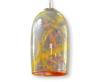 Soapstone Milky Way Hand Blown Glass Pendant Ceiling Lights Interior Lighting