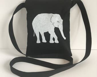 Elephant Passport Bag