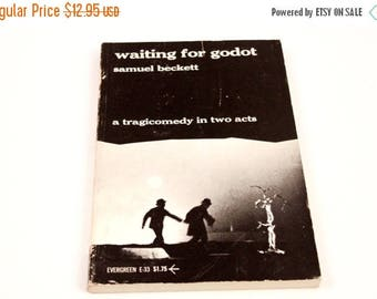 Waiting for Godot - Samuel Becket - Original Play Script - Vintage ~ The Pink Room ~ 160906