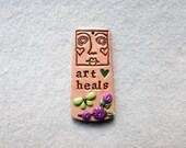 Art Spirit Totem Pendant/Face Pendant - Art Heals