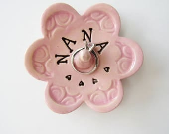 Nana Keepsake Ring Dish, Ready to Ship, Gift for Nana