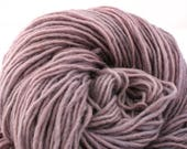 Valkill Hand Dyed DK weight NYS Wool 252 yds 4oz Frosted Lilac