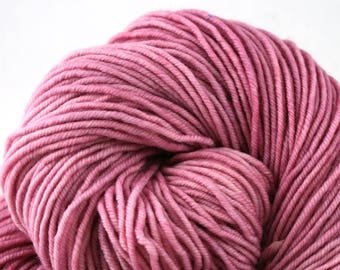 Hudson Superwash Merino Hand Painted worsted weight 240 yds Orchid