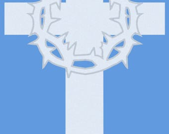 The Martyrs Memorial Cross - Clear Acrylic