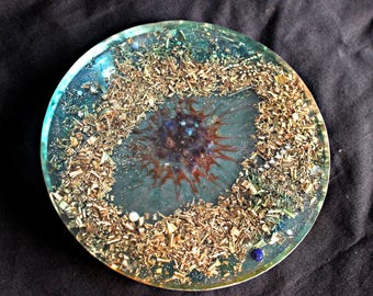 Powerful Gods Eye Orgone Charging Plate