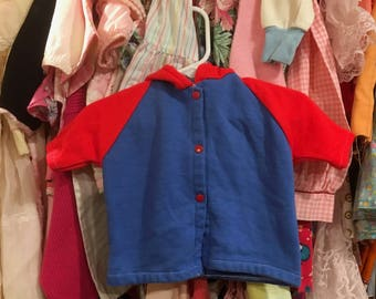 70s Baby Hoodie 9/12 Months