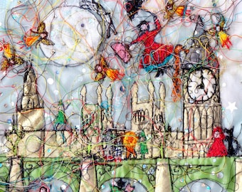 A Fairytale in London   greeting card