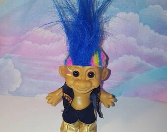 Vintage Russ Punk Rock Troll Doll
