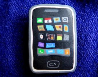 iPhone Brooch