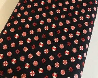 Christmas Fabric by the Yard, Holiday Homies by Tula Pink, Christmas Quilt fabric, Novelty fabric, Candy in Red, Choose your cut
