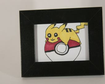 Mini Art Pikachu Pokeball
