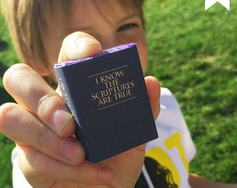Primary Candygrams: Scripture Power Mini Candy Wraps