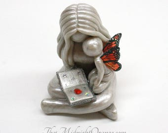 Mother And Baby Angel Child Loss Sympathy Gift Handmade Clay
