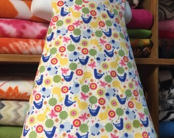 Zoo flannel Pinafore