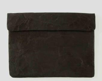 Black Paper Macbook Sleeve