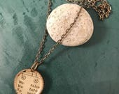 Found Songbird Necklace