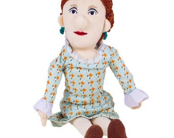 Virginia Woolf Plush Doll