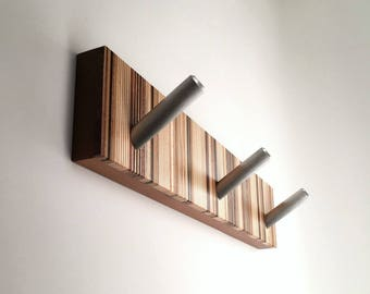 Coat Rack - Unique Design - Wood Home Decor - Office Decor