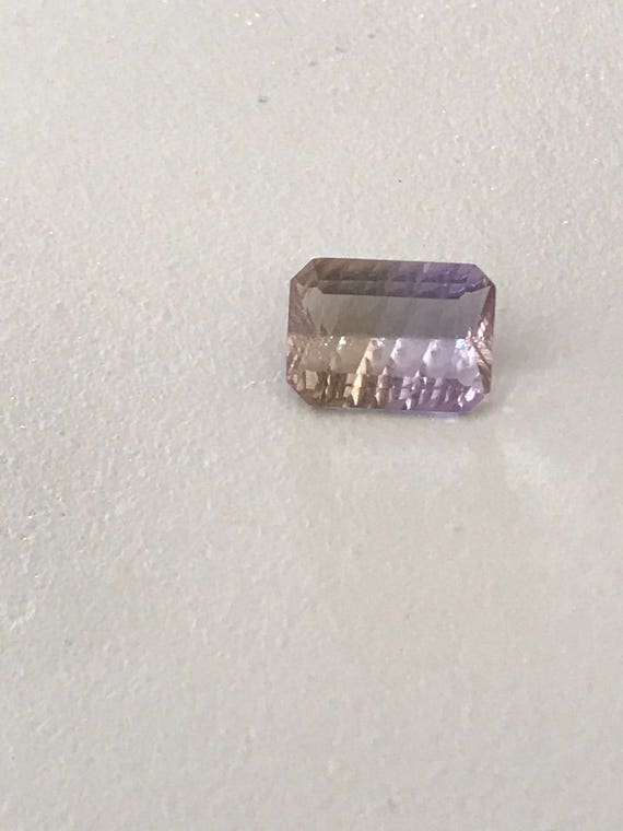 3 Ct Emerald Fancy Cut Ametrine (5mm x 8mm x 11mm)