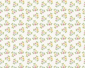 extra15 30% OFF Riley Blake Designs Garden Girl by Zoe Pearn - Posies White