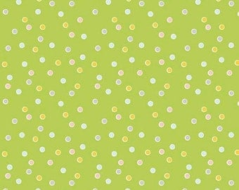 20EXTRA 20% OFF Riley Blake Designs Sweet Orchard Dot Green