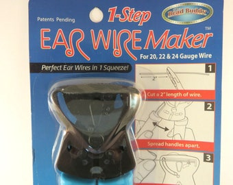 Ear Wire Maker Tool Easy Earwires in Seconds Make Your Own Earwire Makers Tool 7.5x2 inches - 1 pc - Store