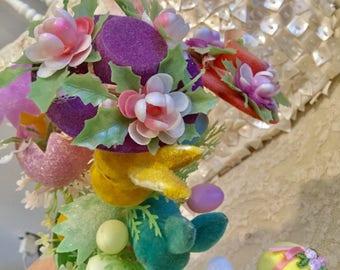 Easter Floral Stems Vintage Items