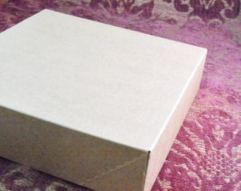 STOREWIDE SALE 10 Pack Kraft Brown Paper Two Piece Style Packaging Retail Gift Boxes 10.5X10.5X2 Inch Size