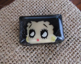 Betty Boop Resin Cabochon