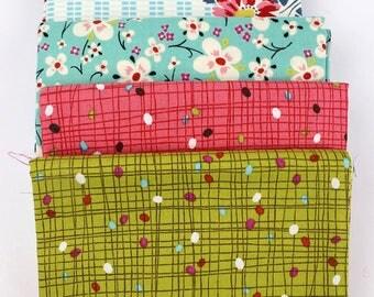 OOP Alexander Henry Farmdale half-yard bundle, five fabrics