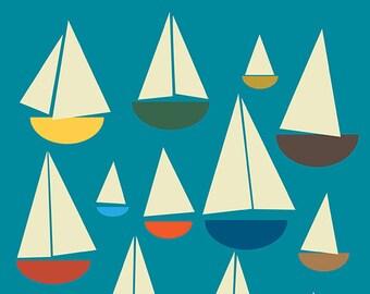 All at Sea print