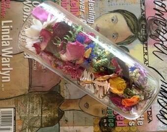 Cottage Garden  Dried Flowers - Potpourri - Wedding Confetti - Country Wedding Throw