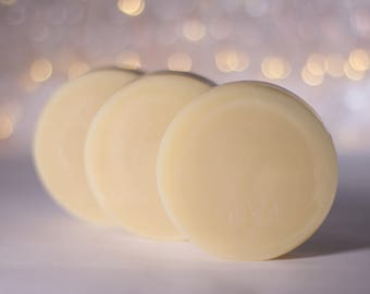 Naked | Shampoo and Body Bar | Unscented Uncolored | Natural Soap for Hair and Skin | Fatty's Soap Co.