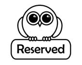 Reserved for j0hnst0n - Owl purse in graphite with added depth