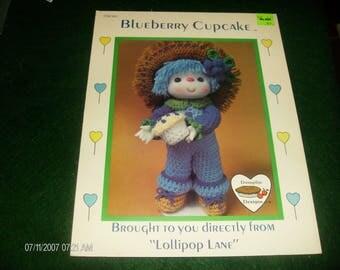 Doll Crocheting Patterns Blueberry Cupcake Lollipop Lane CDC 411 Dumplin Designs