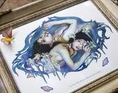 Let Your Skin Begin - 8x10 Fine Art Print