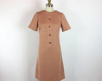 Vintage 1950s Day Dress M/L