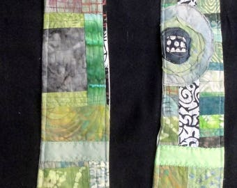 Reversible Modern Clergy Stole   Wedding White   Ordinary Times