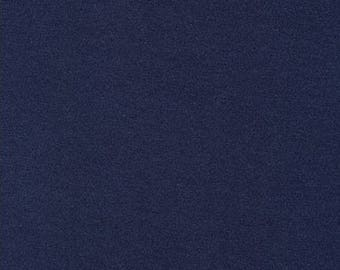 One (1) Yard-Dana Cotton / Modal Knit Robert Kaufman Fabrics D158-831 NAUTICAL Blue