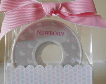 Baby Closet Dividers-PINK and GRAY RABBIT Themed
