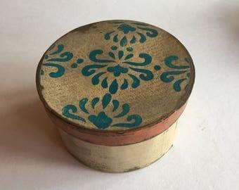 Bohemian  Paper Mache Box