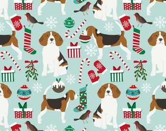 Beagle christmas | Etsy