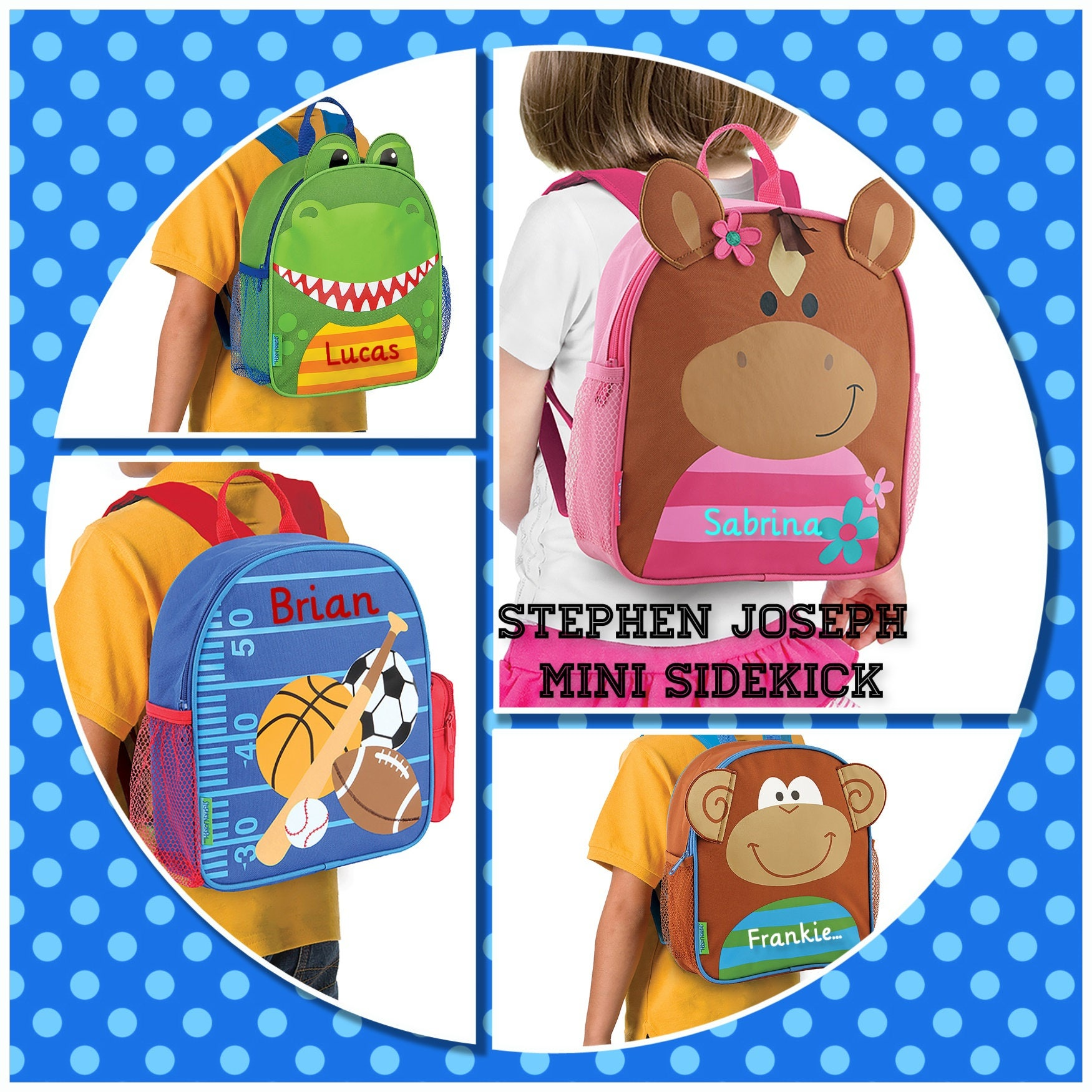 7aed35a104 Personalized Toddler Backpack
