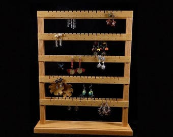 ON SALE Double Sided Medium Standing Earring Holder Earring Tree Earring Storage Earring Organizer Earring Display