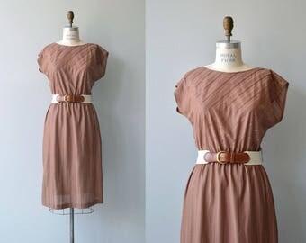 Janie Stripe dress | vintage 1970s dress | minimal 70s dress