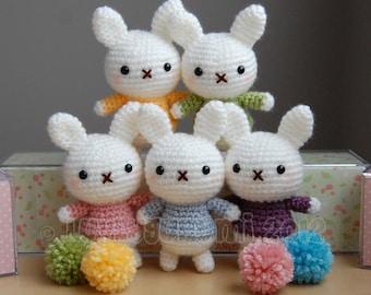 Baby Bunny Amigurumi Pattern