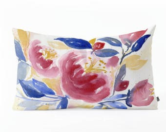 Oblong Throw Pillow - Abundance