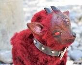 Oblivion - Demon Pygmy Goat - OOAK Art Doll