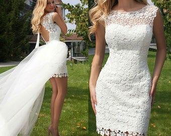 Removable Train,Wedding Dress Skirt,6 Layer,Bridal Overskirt,DETACHABLE Train,Detachable Skirt,Short Wedding Dress,Beach Wedding,Tulle TRAIN