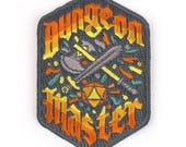 Dungeon Master Iron On Patch